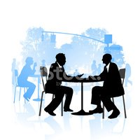 Meeting,Silhouette,Business...