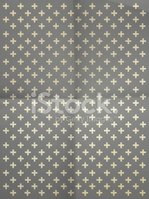 Gray wrapping paper with crosses