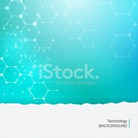 Abstract chemistry molecules technology medical vector backgroun