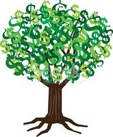 Currency,Growth,Tree,Money ...