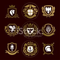 Coat Of Arms,Sign,Lion - Fe...