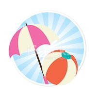 Play,Sea,Parasol,Sunshade,O...