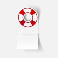 realistic design element: lifebuoy