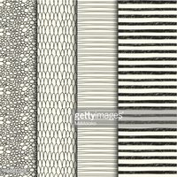 Set of four handdrawn textures