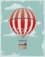 Hot Air Balloon,Steampunk,R...