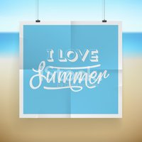 Summer,Vector,Beach,Poster,...