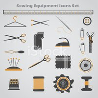 Sewing Needle,Spool,Thread,...