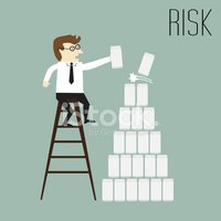 People,Risk,Ilustration,Biz...