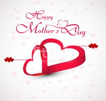 Vector illustration beautiful card colorful happy mother's day