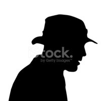 Hat,Silhouette,Human Head,C...