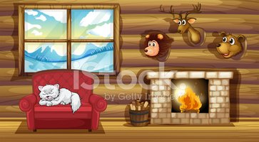 Fireplace,Comfortable,Indoo...