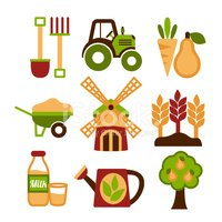 Tractor,Growth,Harvesting,V...