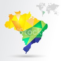 Cartography,Map,Brazil,Sout...