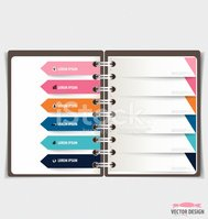 Note Pad,Spiral,template,Gr...