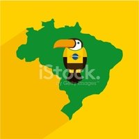 Brazil,Map,South America,Ce...