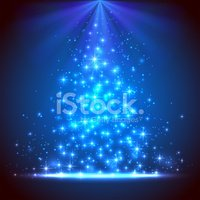 Christmas,Blue,Ethereal,Ill...