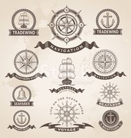 Compass,Nautical Vessel,Old...