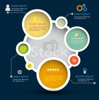 Circle,Infographic,Vector,T...