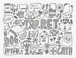 Pets,Doodle,Drawing - Activ...