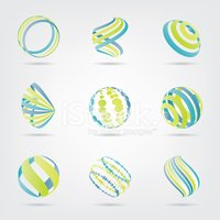 Abstract,Green Color,Sphere...