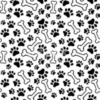 Paw Print,Dog,Vector,Track,...