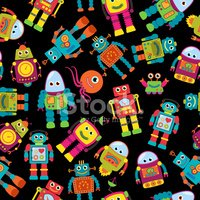 Cartoon,Robot,Cute,Technolo...
