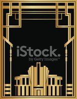 gatsby,Art Deco,Frame,Gold ...