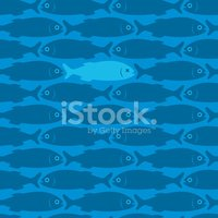 Fish,Pattern,Seamless,Backg...