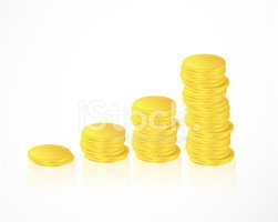 Growth,Coin,Wealth,EPS 10,A...
