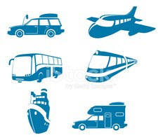 Bus,Train,Airplane,Symbol,R...
