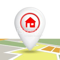House,Real Estate,Sign,Map,...