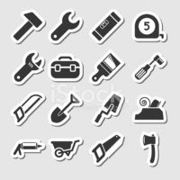 Symbol,Socket Wrench,Home I...