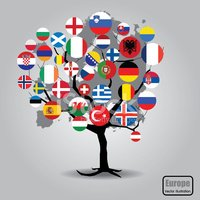 UK,Flag,nation,USA,Tree,Eur...