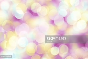 blurred dots on bright background