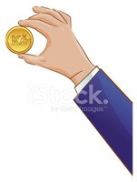 Human Hand,Penny,Currency,D...