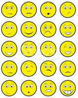 Smiley Face,Winking,Human M...