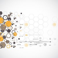 Hexagon,Ideas,Digitally Gen...