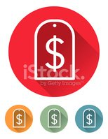 Dollar Sign,Vector,Shadow,R...