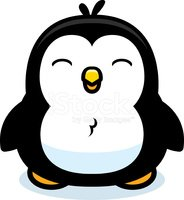 Small,Penguin,Standing,Vect...