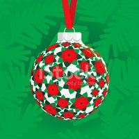 Poinsettia,Christmas,Sphere...