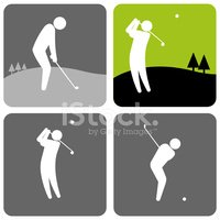 Golf,Golf Course,Vector,Sp...
