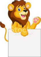 Lion - Feline,Large,Placard...