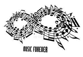 Black And White,Vector,Musi...