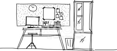 Domestic Room,Indoors,Sketc...