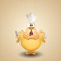 Chef's Hat,Poultry,Silverwa...