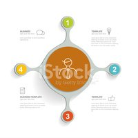 Four Objects,Infographic,Cr...