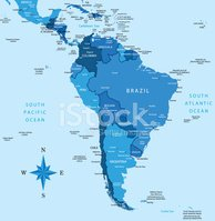 South America,Map,Vector,Ci...