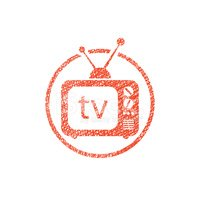 Television Set,Sign,The Med...