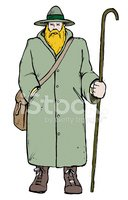 Vector,Farmer,Cartoon,Fun,H...