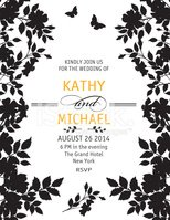 Wedding Invitation,Floral P...